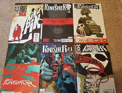 PUNISHER GRAB BAG. 6 x Marvel Comics.