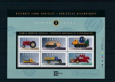 [G47333] Canada 1996 : Transportations - Good Very Fine MNH Sheet