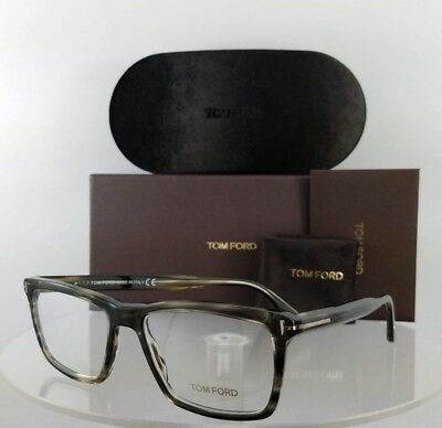Brand New Authentic Tom Ford Eyeglasses FT TF 5407 005 54mm GREY Charcoal Frame