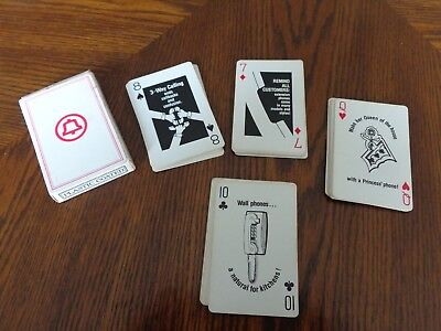 Vintage Bell System Playing Cards