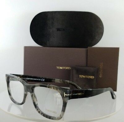 Brand New Authentic Tom Ford Eyeglasses FT TF 5468 056 53mm Grey Charcoal