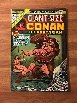 Giant-Size Conan The Barbarian 2 (Marvel 1974)Gil Kane~Barry Smith~Bronze Age~VF