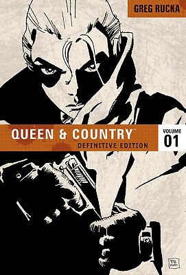 Greg Rucka's QUEEN & COUNTRY DEFINITIVE EDITION - VOLUME 01