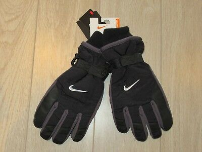 Nike Youth Boys 3M Insulated Winter Gloves Black 8-20