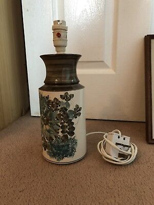 Original Jersey Pottery Lamp