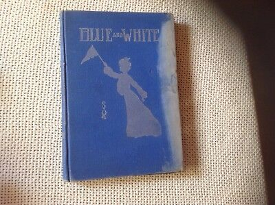 1904 Los Angeles high school yearbook, Blue and White,  Los Angeles business ads