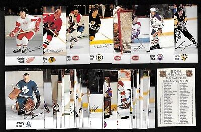 1983-84 1988-89 Esso All-Star Collection Nhl Hockey Sticker Card See List