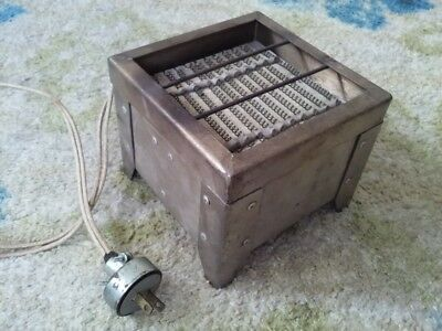 Antique Vintage Electric Hot Plate Cooking Burner