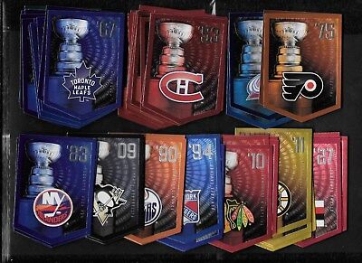 2011-12 Panini Molson Coors Light Stanley Cup Banner Nhl Card & Promo See List