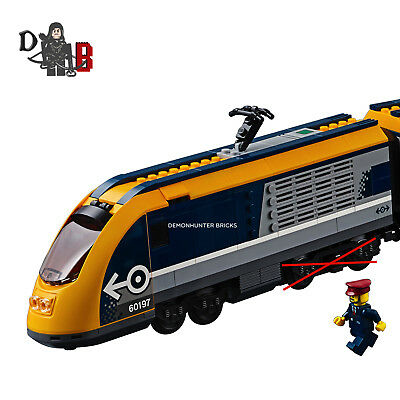 Dos Passagers Locomotive Roues Train Seulement Sans Lego City Ou 60197 YfvIb76gym
