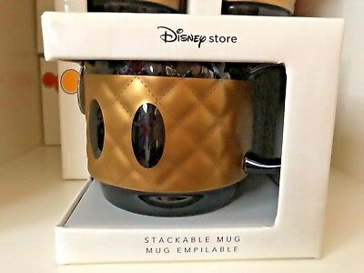 Disney Memories Stackable Mug Limited Edition August 2018 Mickey Mouse Brand New