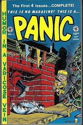 Panic Comics Reprint Books Issues # 1 - 4 And 9 - 12 Russ Cockrum
