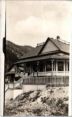 RPPC SUPERIOR, MT Montana   View of ATTRACTIVE HOME Mining Town 1910  Postcard