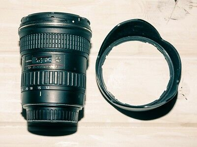 Tokina At-X Pro Dx 12-24Mm F4 Ii Ashperical Zoom Lens For Canon Eos Dslr/new