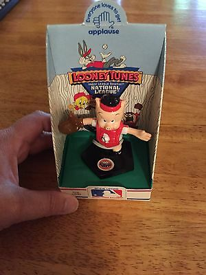 LooneyTunes Porky Pig ~Applause~Major League Baseball~National~Houston Astros