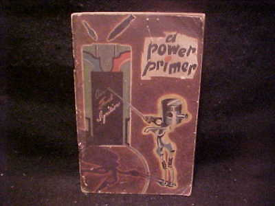 """A Power Primer"", GM War Products booklet, 1944, FREE SHIP"