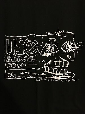 """Ryan Adams """"People Love Television Monsters"""" Shirt Size L"""
