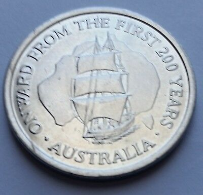 1980 - 1990 DECADE OF HOPE Australia First 200 Years Collectors Item Great