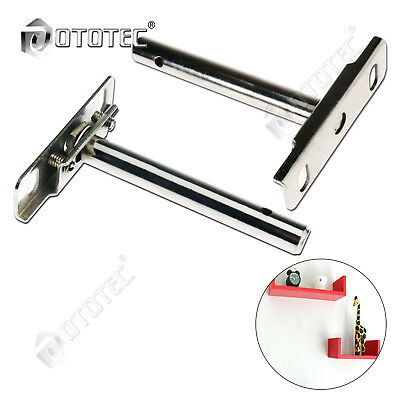 New 4PCS Concealed Shelf Steel Metal Strong Support Brackets Hidden Floating