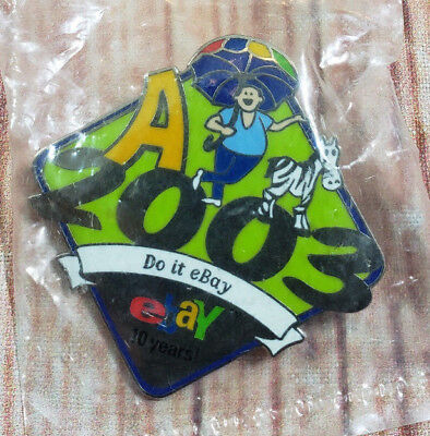 2003 eBay Live Do it eBay 10 Years Collectible Pin NEW