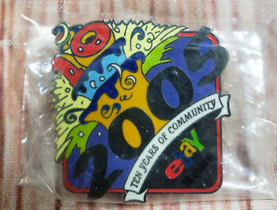 2005 eBay Live 10 Years of Community Collectible Pin NEW
