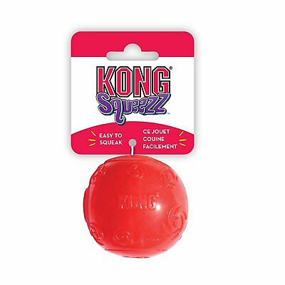 KONG Squeezz Ball Dog Toy - Medium, Assorted Colours