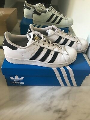 Adidas Superstar Shoes Mens Size 9 Ladies Size 7