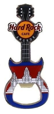 Hard Rock Angkor 2017 Flag Magnet Bottle Opener