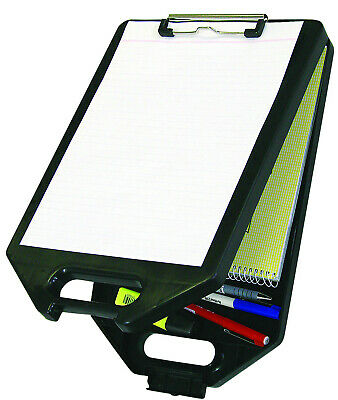 Sovereign A4 Clipboard with Storage Compartment Case Assorted Blue Black Red
