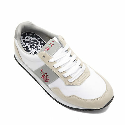 U.S. POLO ASSN. Sneakers Size 44 / UK 9.5 Low Top Lace-Up NOBIL4044S6/NH1A