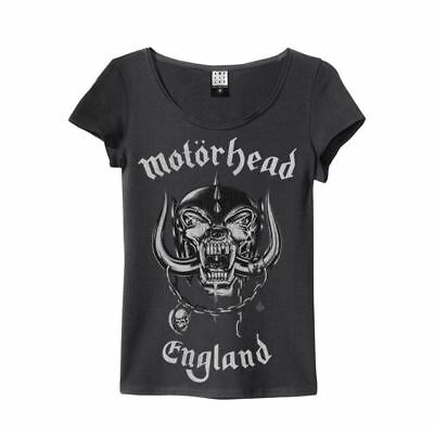 Amplified Officially Licensed Slim Motorhead England T-shirt