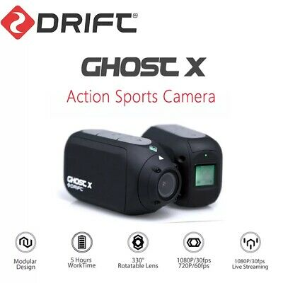 DRIFT GHOST X 1080P Full HD 12MP EIS Motorcycle Helmet Action Sports Camera