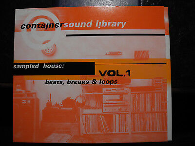 Sound Sample Audio CD  House / Disco / Drumloops/ Old-School Vocals,Organ ect.