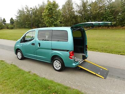 2013 Nissan NV200 1.5 Dci WHEELCHAIR ACCESSIBLE ADAPTED DISABLED VEHICLE WAV