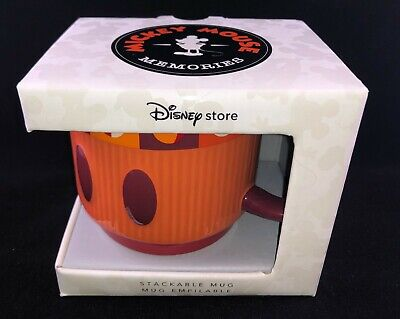Disney Memories Stackable Mug Limited Edition July 2018 Mickey Mouse Brand New