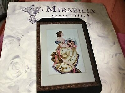 mirabilia Spring queen cross stitch chart-new,sealed-