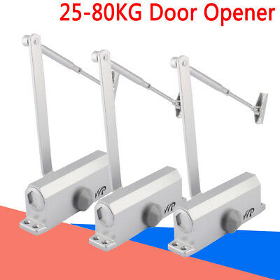 25-80KG High Quality FIRE RATED Overhead Door Closer Opener Automatic Closure UK