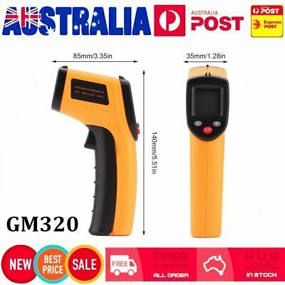 Digital Non-Contact Infrared IR Thermometer Temperature Laser Gun -50℃ to 380℃MT