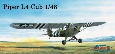 Piper L4- Cub 1944 Model Aircraft Kit  1/48 Atlantis