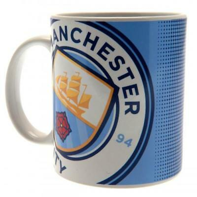 Manchester City Fc Man Official Ceramic Coffee Tea Mug HT