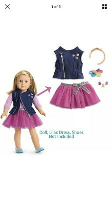 """American Girl TRULY ME LOVE TO LAYER ACCESSORIES for 18"""" Dolls Clothes Clips NEW"""