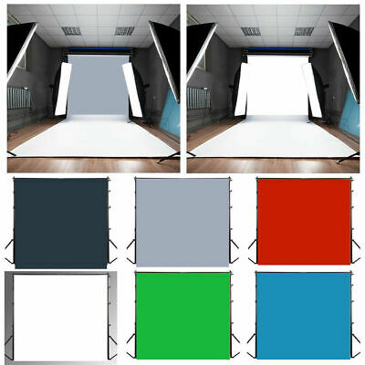 5 Color Square Photography Background Photo Video Props Backdrop 3x3/4x4/5x5ft