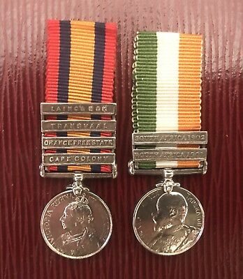Pair Of Miniature Medals QSA & KSA