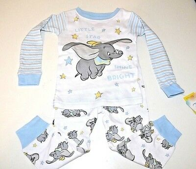 New Disney Dumbo baby toddler boys pajamas 9m 12m 18m 24m