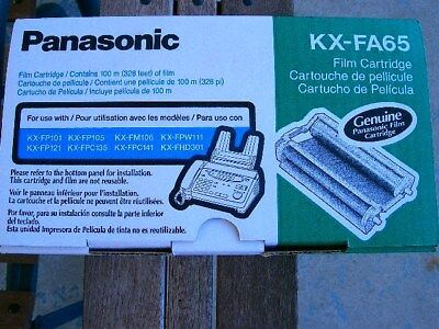 Panasonic KX-FA65 Fax film cartridge NEW