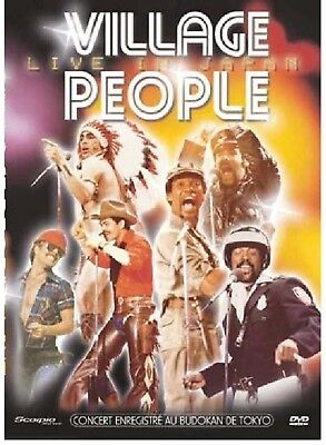 DVD VILLAGE PEOPLE Live In Japan - CONCERT - 14 Titres - 69 min. - Zone 2 - NEUF