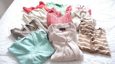 Bundle of knitwear size 12 NEXT PER UNA GAP 10 items