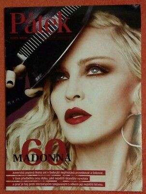 """Patek Madonna 60"" NEW Czech A4 Magazine w/EXCLUSIVE PROMO COVER & 6 pgs Article"