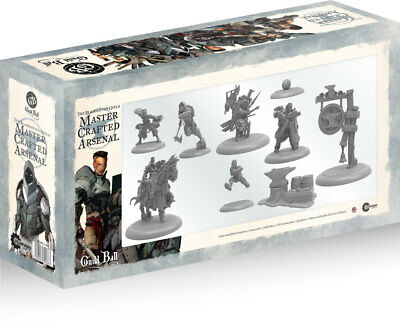 Guild Ball: The Blacksmith's Guild: Master Crafted Arsenal