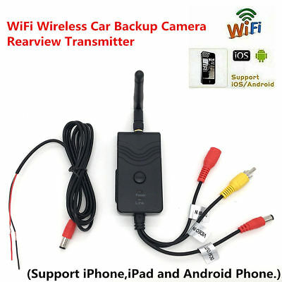 Wifi Car Backup Rearview Camera 903W Video Transmitter For iPhone Android Phone